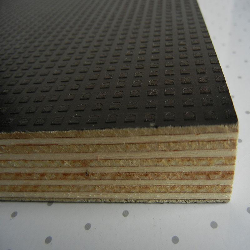 Anti slip face film faced plywood poplar core