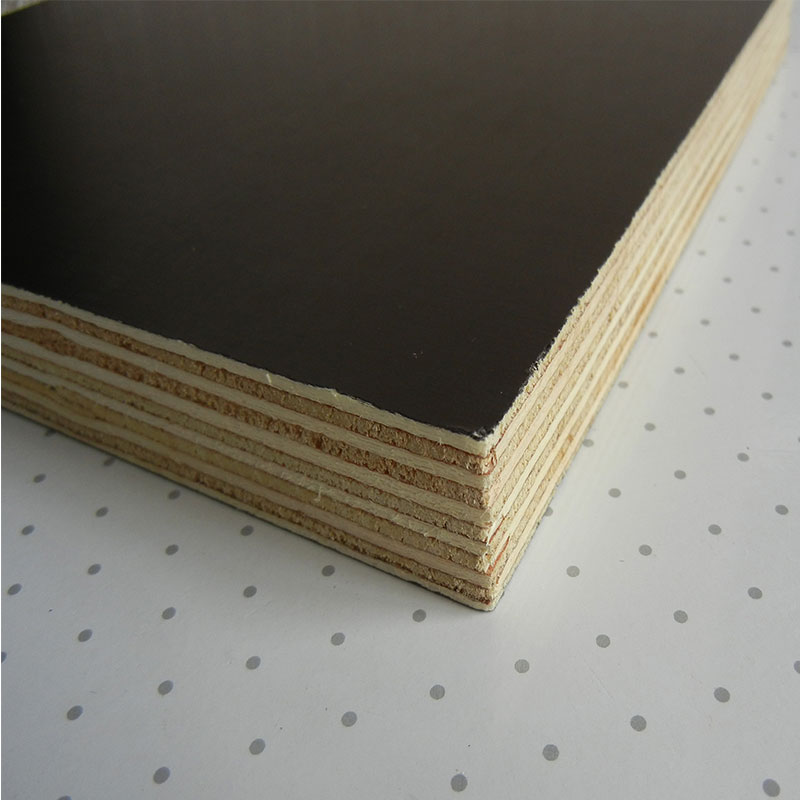 Metal Faced Plywood ~ Brown film faced plywood poplar mm